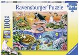 Puzzle minunatul ocean, 100 piese - VV25363, Ravensburger