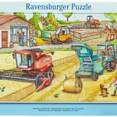 Puzzle masinarii, 15 piese - VV25297, Ravensburger