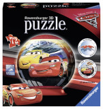 Puzzle 3d Cars 3, 72 piese - VV25168