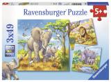 Puzzle animale, 3x49 piese - VV25348, Ravensburger