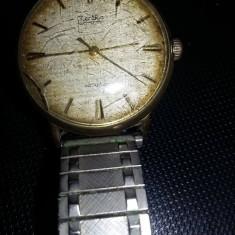 Ceas Zentra vechi de mana,ceas vechi de colectie,Placat aur,Transport GRATUIT