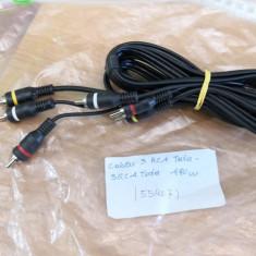 Cablu 3RCA Tata - 3RCA Tata 1,90m (55407)