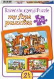 Puzzle masini, 3x6 piese - VV25295, Ravensburger