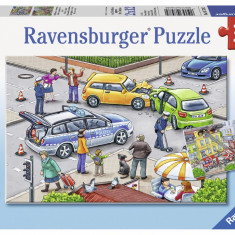 Puzzle politie, 2x12 piese - VV25330