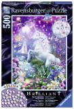 Puzzle unicorn in padure, 500 piese - VV25184