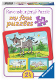 Puzzle animale, 3x6 piese - VV25292, Ravensburger