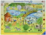 Puzzle distractie la zoo, 24 piese - VV25313, Ravensburger
