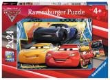 PUZZLE CARS, 2x24 PIESE - VV25473, Ravensburger