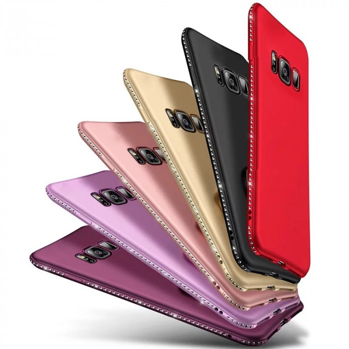 Husa silicon Diamond Samsung Galaxy S8 / S8 Plus / S7 Edge