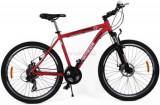 Bicicleta Omega Hawk, Roti 26inch, 21 viteze (Rosu)