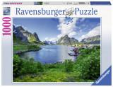 Puzzle Portul Lofoten, 1000 piese - VV25203, Ravensburger