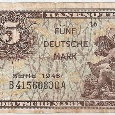GERMANIA 50 MARCI MARK 1948 VF