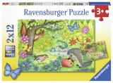 Puzzle gradina, 2x12 piese - VV25334