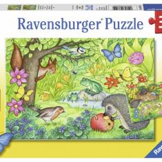 Puzzle gradina, 2x12 piese - VV25334, Ravensburger