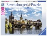 Puzzle Podul Charles, 1000 piese - VV25205, Ravensburger