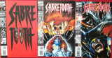 SABRETOOTH (Marvel comics)-Lot 6 reviste benzi desenate