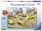 Puzzle santier in lucru, 35 piese - VV25345