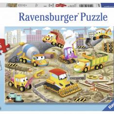 Puzzle santier in lucru, 35 piese - VV25345, Ravensburger