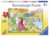 Puzzle la plimbare, 35 piese - VV25346, Ravensburger