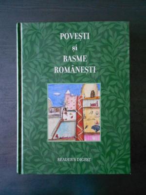 POVESTI SI BASME ROMANESTI (Reader's Digest, ilustrata de Irina Dobrescu) foto
