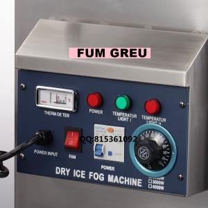 MASINA FUM GREU GHEATA CARBONICA 4000 WATT ,EFECT DISCO FUM GREU PT.NUNTI .NOUA.