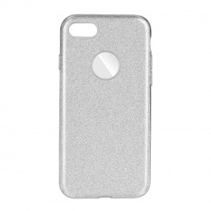 Husa Apple iPhone 7 Forcell Shining Argintie - CM11041