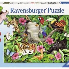 Puzzle prieteni tropicali, 60 piese - VV25356, Ravensburger