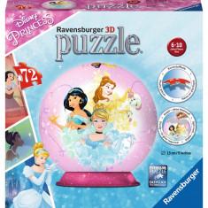 Puzzle 3d Printese Disney, 72 piese - VV25167, Ravensburger