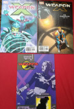WEAPON X (Marvel comics)-Lot 3 reviste benzi desenate