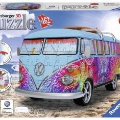 Puzzle 3d Dubita VW t1, 162 piese - VV25176, Ravensburger