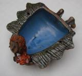 Impresionanta sculptura din ceramica glazurata, Europa