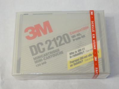 Data tape 3M DC2120 Minicartridge 120 Mb - sigilate - noi foto