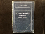 Stampilografie postala - Kiriac Dragomir editia 1990,cu dedicatie