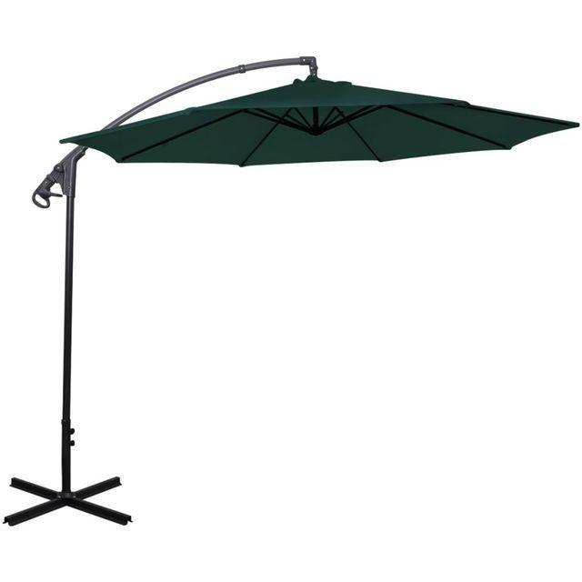 Umbrelă de soare Verde 3m foto mare