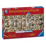 Puzzle Capela Sixtina, 1000 piese - VV25219, Ravensburger
