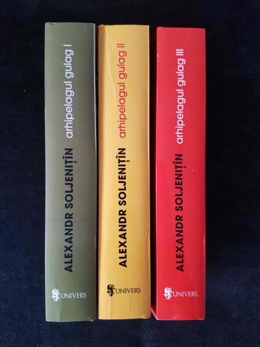 Arhipelagul Gulag – Aleksandr Soljenitin (3 vol.)
