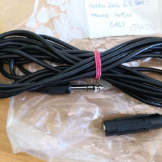 Cablu Jack 6.3 Tata - Jack 6.3 Mama 4,9m (55423)