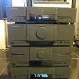 Doua piese Grundig ( CD player dublu caset ) si radio Grundig T 1850