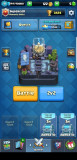 Cont Clash Royale level 11 toate cartile arena 11