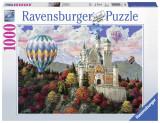 Puzzle Neuschwanstein, 1000 piese - VV25215, Ravensburger
