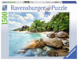 Puzzle plaja, 1500 piese - VV25235, Ravensburger