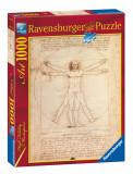 Puzzle Da Vinci, 1000 piese - VV25225, Ravensburger