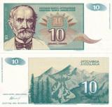 IUGOSLAVIA 10 dinara 1994 UNC!!!