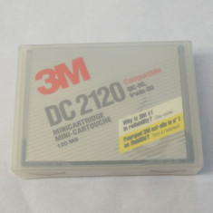 Data tape 3M DC2120 Minicartridge 120 Mb