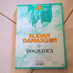 DOGMATICA ST. IOAN DAMASCHIN