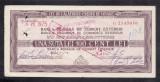 Bon 100 lei Cec de Calatorie  Cheque de Voyage 9