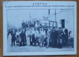 CP Campina , Excursionisti la Univers. Populara Iorga din Valenii de Munte ,1927, Necirculata, Printata