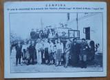 Campina , Excursionisti la Univers. Populara N. Iorga din Valenii de Munte ,1927, Necirculata, Printata