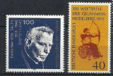 GERMANIA – PERSOANE CU DIZABILITATI, PREOT. 2 SERII TEMATICE NESTAMPILATE, B30