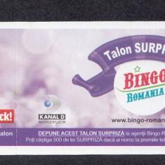 A4114 Bilet loto Bingo Romania